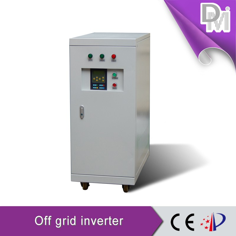 110Vdc/220Vdc/380Vdc off grid pure sine wave 3 phase solar power inverter 30kva