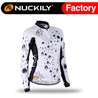 Nuckily High quality 2015 autumn womens fashion cycling jersey