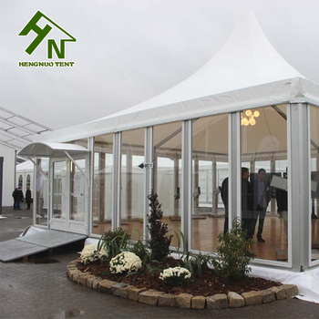 Luxury Large Party Gazebo Tent For Sale Philippines With Glass Wall & Pagoda Tent Pagoda Tent direct from Guangzhou Hengnuo Tent ...