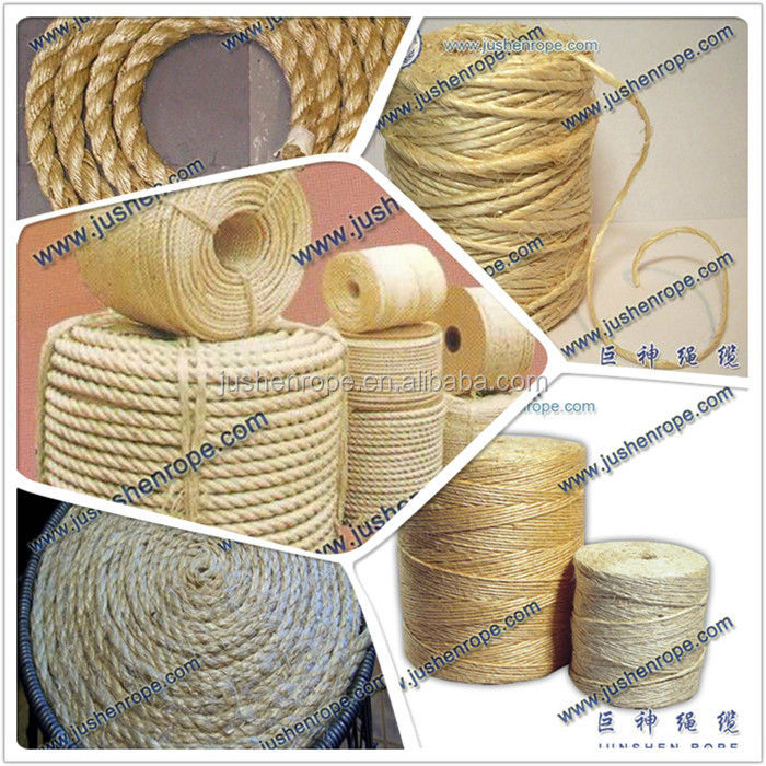 wholesale raw natural jute rope 6mm