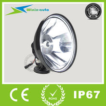 GUANGZHOU LED LIGHT top product 10inch 55W HID hunting portable spotlight for tractor cars 4300 lumen WI1055-1