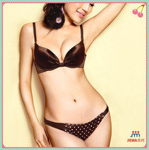 2014 best selling good price and high quality satin panties for women JM0016