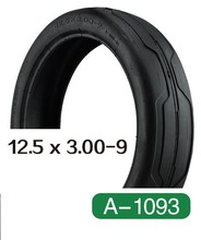 pneu baby rubber air square tire 12.5X3.00-9