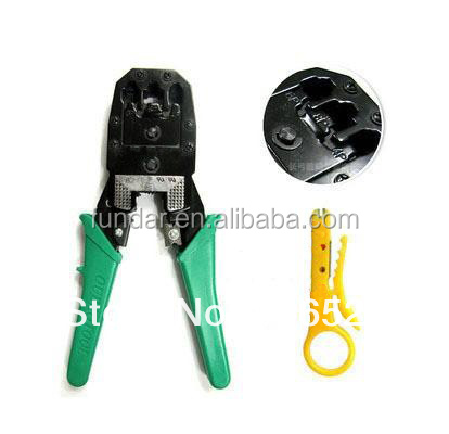 Free shipping 3 in 1 network cable crimping pliers rj45 rj11 rj12 crimping tools network clamp