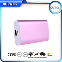 Promotional Powerbank 5200mah 5V 1A External Mobile Battery Charger Pack Power Bank