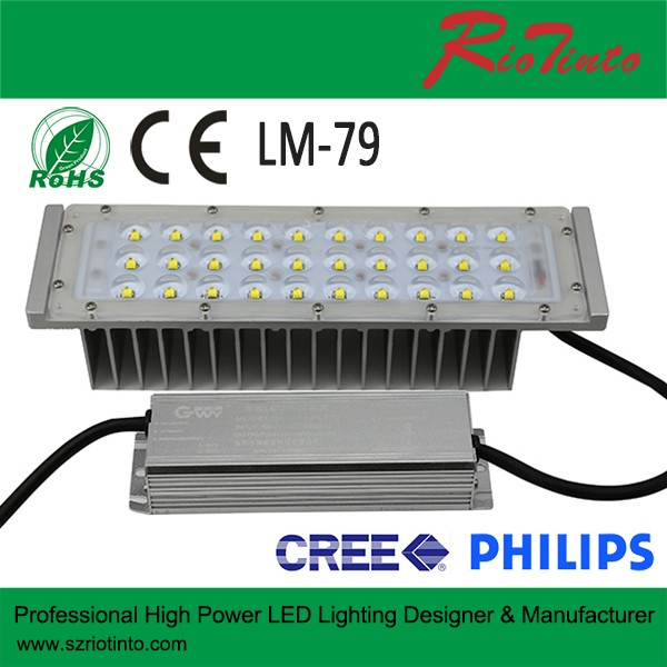 IP68 high power led module 30W 40w 50w 60w led street light module
