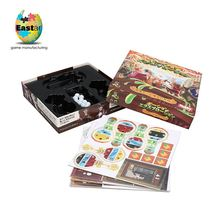 OEM Available Washable boereplaas hot sale costom family board game