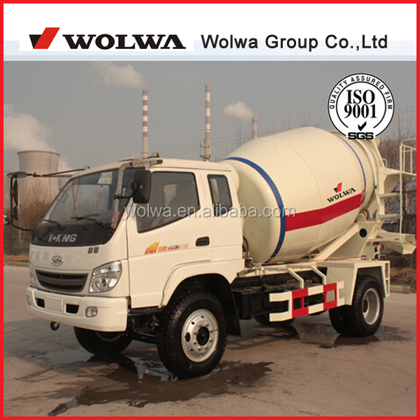 low price high quality 6CBM of concrete mixer truck for sale