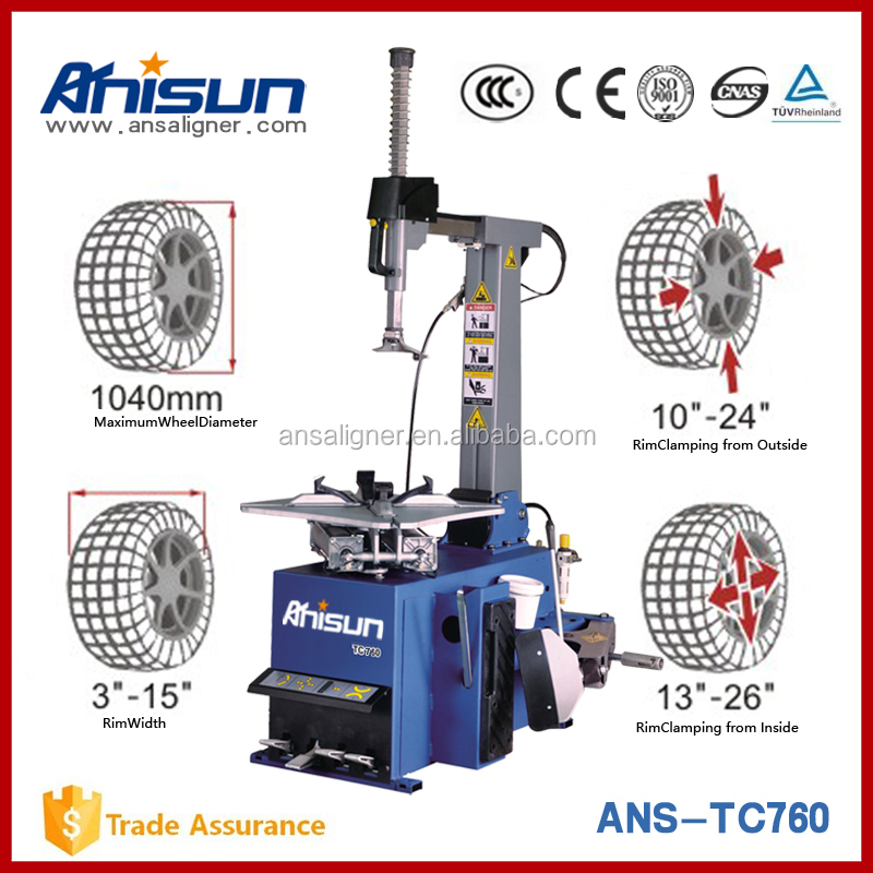 China Factory Direct Wholesale Tire Changer for Car