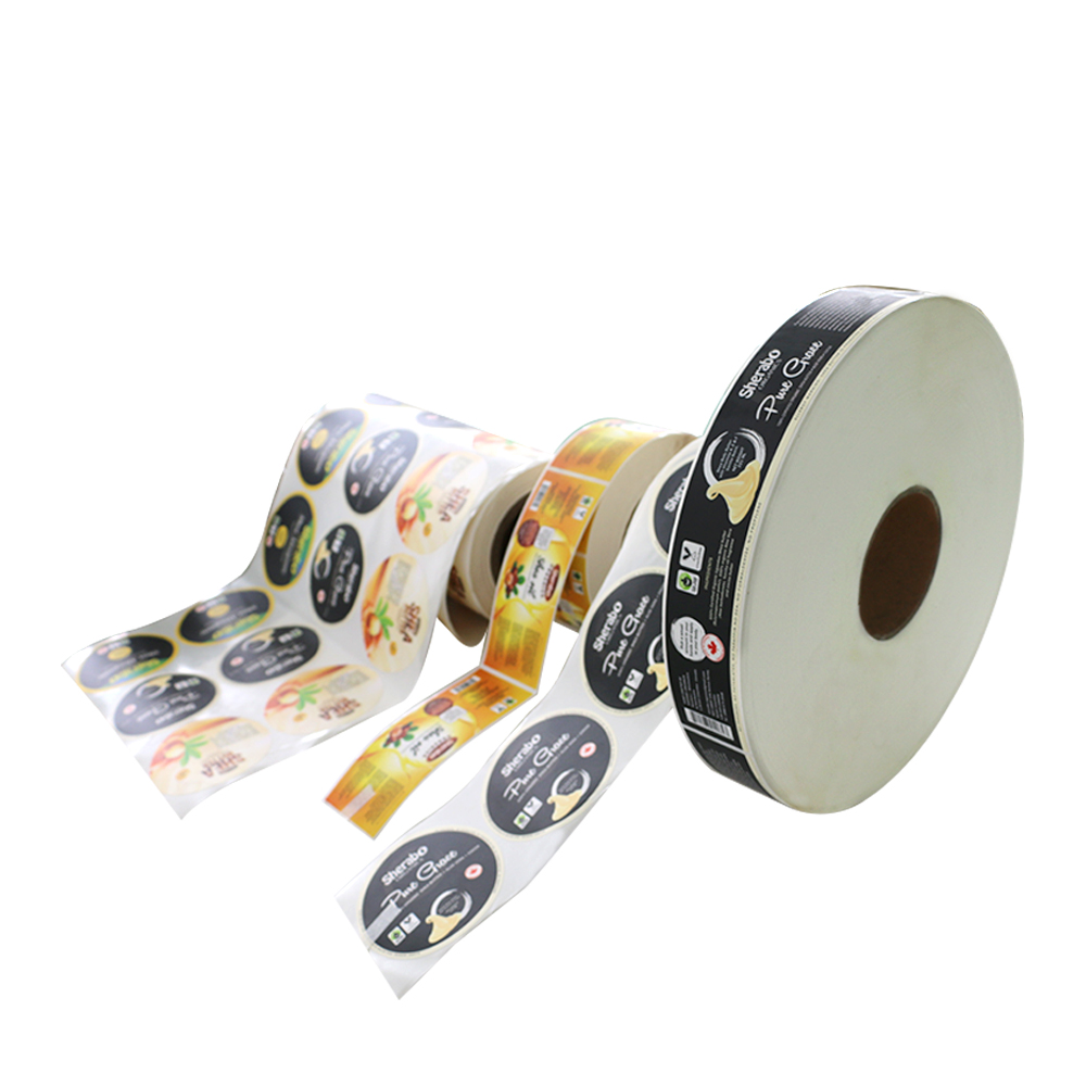 Custom Printed Self Adhesive Oil Label Stickers For Bottles