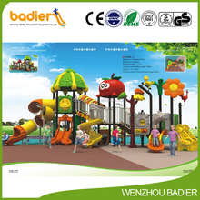 Children outdoor playground big slides for sale