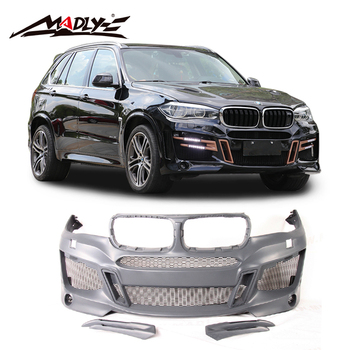 Madly PU materiaal auto body kits voor BMW X5 F15 body Kit LAS Stijl Nieuwe 2014-2018X5 f15 Auto body kit