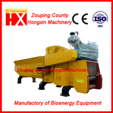 Diesel engine wood chipper biomass crusher