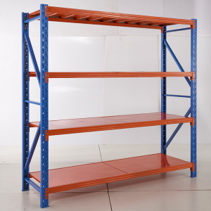 Prefab warehouse light duty shelf steel structure warehouse racking
