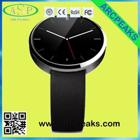 Elegant classic round watch heart rate mobile watch phones