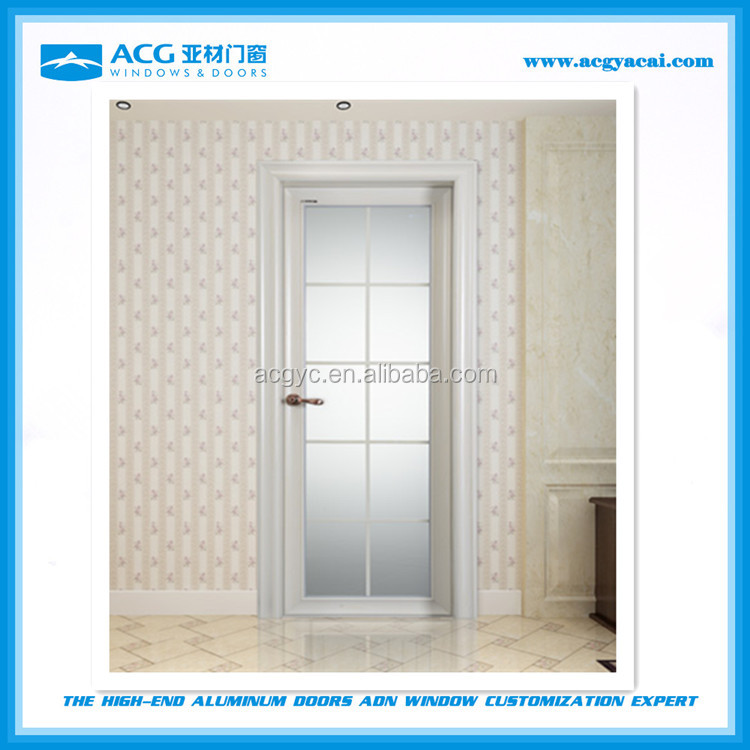Corrosion resistant low price interior swing <strong>aluminum</strong> doors