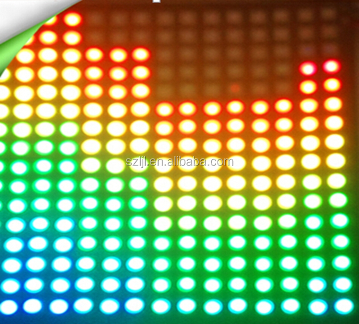 IC inner 300leds 5050 3 chips programmable flexible led sign strip rgb ws2812
