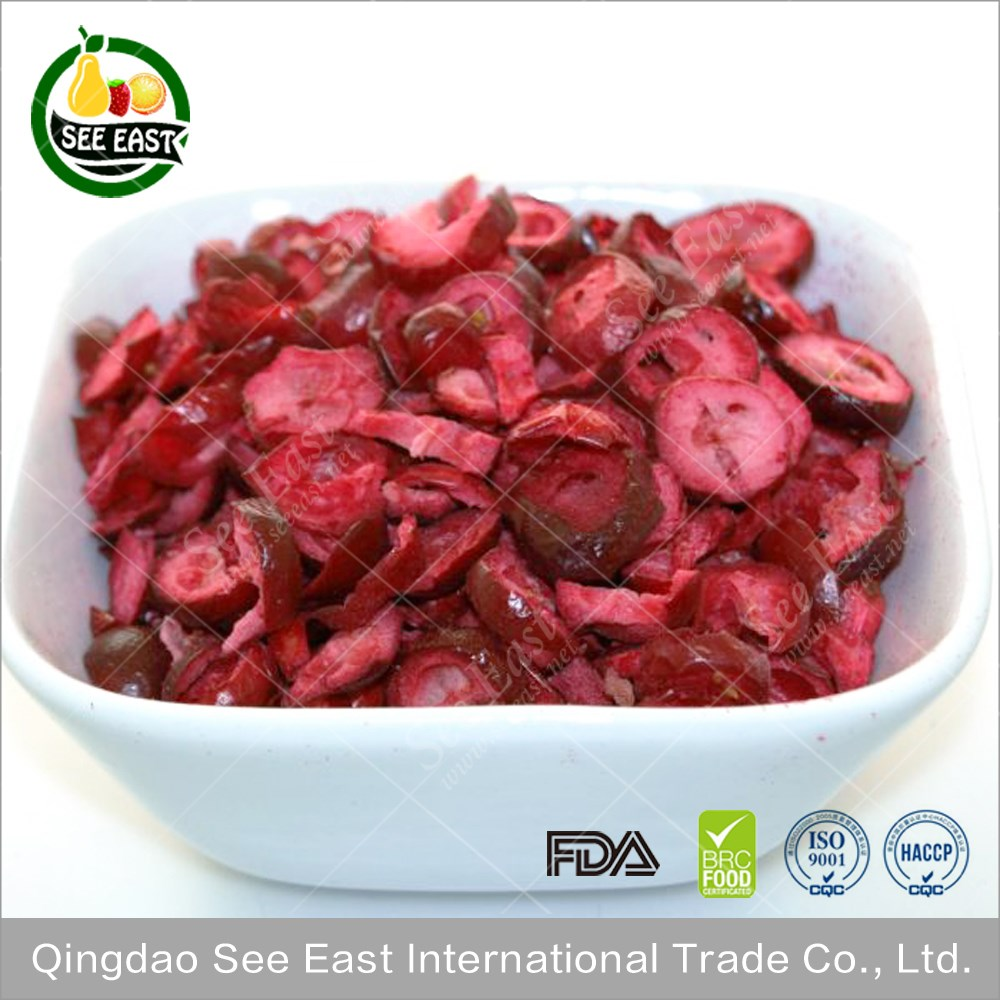 OEM welcome products 2016 freeze dried cranberries in bulk