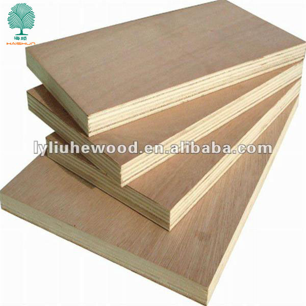 3mm Decorative Bintangor/Okoume/Gurjun/Keruing/PLB/PA Natural Face Wood Veneer Sheet