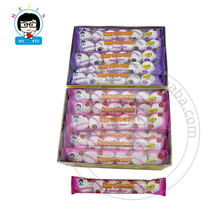 Round Shape Marshmallow in Bags Fruity Flavour Marshmallow Filled with Jam