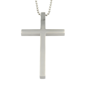 hot sales new simple style big cross pendant jewelry