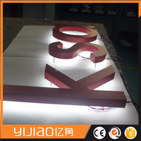Stainless Steel Acrylic Sign Makers Led