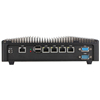 X86 Intel Fanless Firewall Computer With