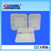 Non woven breathable adhesive wound dressing plaster