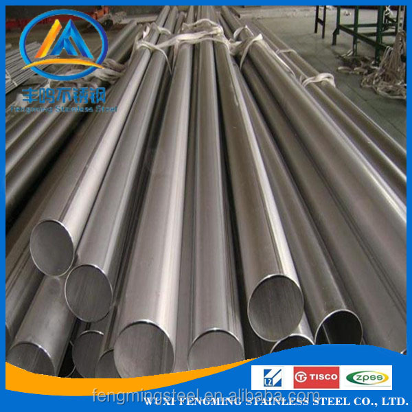 ASTM polishing stainless steel pipe 316l