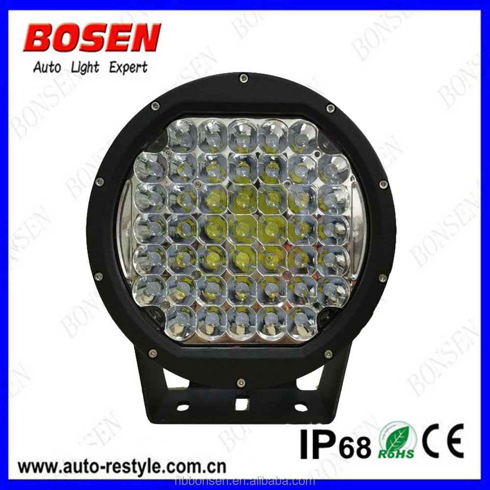 Arb 225w 10 inch IP68 5w*45pcs 4x4 spot lightHeadlight Type and 10-30V DC Voltage 185w USA led off roa