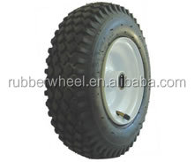 inflatable wheel barrow rubber wheel tire 4.10/3.50-6