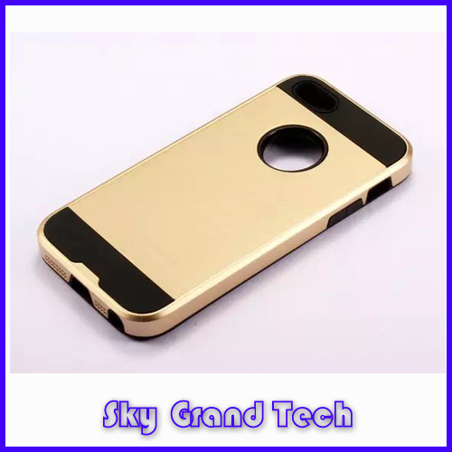 CO Two layers Mobile phone part two-tone round case for iphone5s