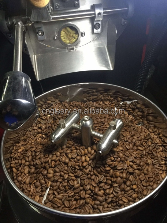 GR-1KG Gas/electric stainless steel small shop home coffee roaster roasting machine for green bean