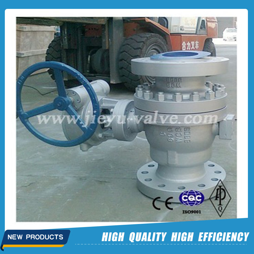 API Flanged Trunnion Mounted Ball Valve Supplier
