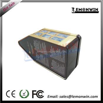 0.23 mm first grade thickness house shape tin box