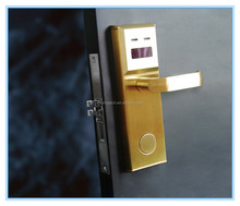 New Design Zinc Alloy + Stainless Steel + ABS(Engineering plastic) hotel card lock management software