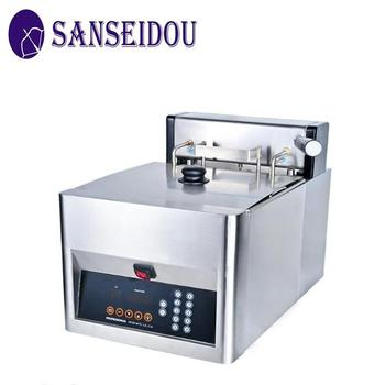 8L countertop auto lift-up electric potato chips fryer machine of commercial kitchen cooking equipment