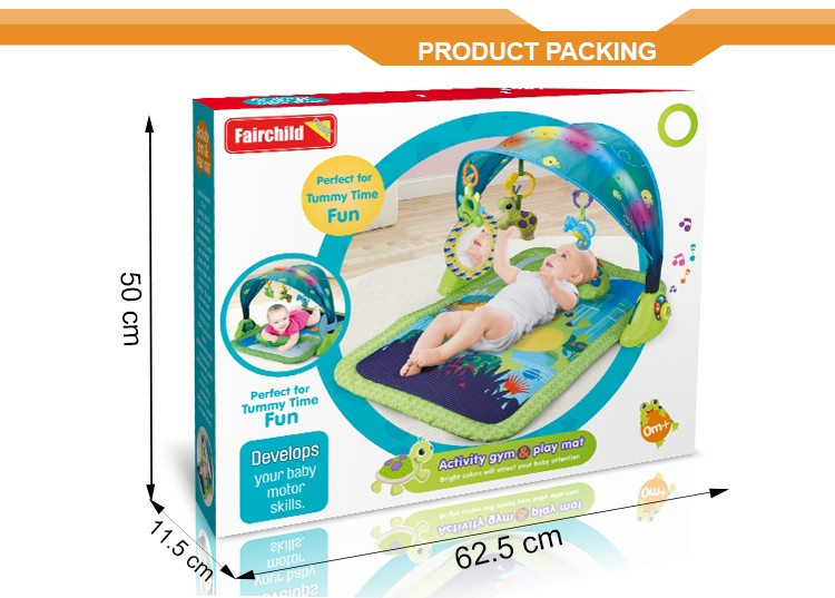 New baby activity gym sleeping baby education mat