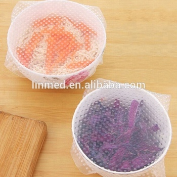 Food grade eco friendly food wrap silicone food wrap set with good price