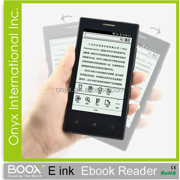 fashional e-ink smartr phone made in china Onyx Boox E43 Android 2.3 wifi bluetooth