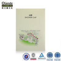 Custom Hotel Disposable Plastic Shower Cap