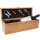 High quality bamboo single bottle wood wine box