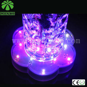 Multi-Color LED Lights for Vases for Wedding Decoration