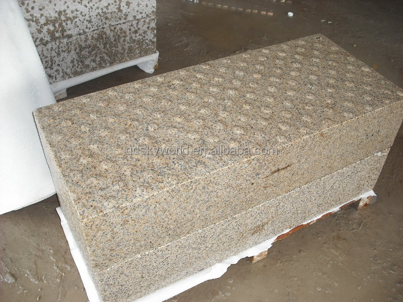 Granite Tactile stone for blind people