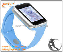 eight colors available mini cell phone big touch screen bluetooth camera sim card mobile watch phones