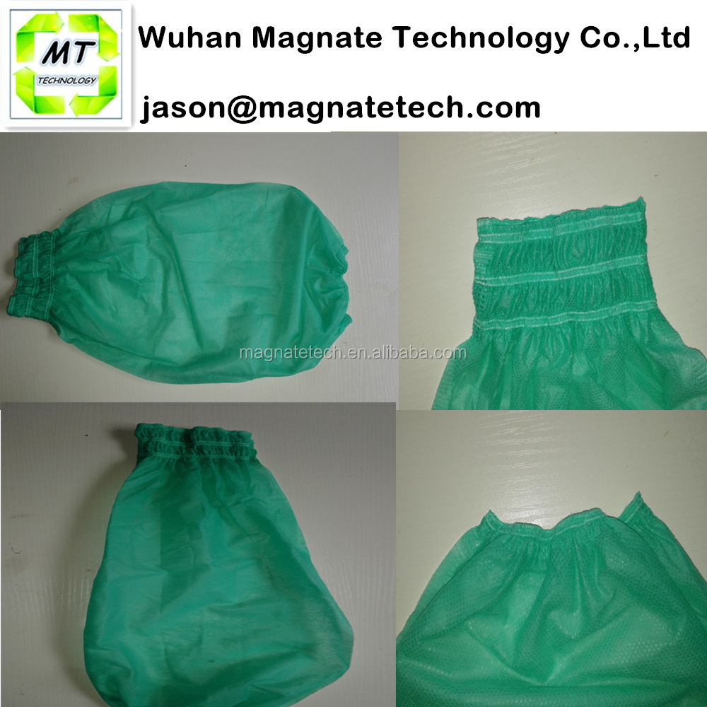 Green Machine Made Non Woven Disposable Over sleeve
