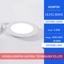 LED panel 3w 4W 6W 9W 12W 15W 18W 24W Ultra-thin led downlight ceiling square round panel lights AC85-265V led bulb lamps