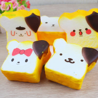 Wholesale 2017 most popular squishy slow rising toys with bread shape