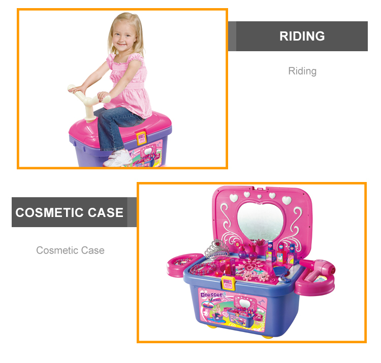 Top Popular Play Toys Kids Dressing Table For Girls