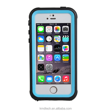 Anti-shock PC TPU Clean Color Cover Water Proof Swimming Case for iPhone SE 5S